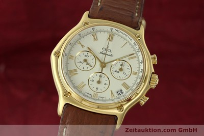 EBEL 1911 CHRONOGRAPH 18 CT GOLD AUTOMATIC KAL. 134 400 [142347]