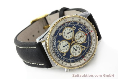 BREITLING NAVITIMER CHRONOGRAPH STEEL / GOLD AUTOMATIC KAL. B33 ETA 2892-2 [142348]
