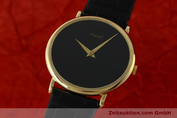 PIAGET 18 CT GOLD MANUAL WINDING KAL. 9P2 [142350]