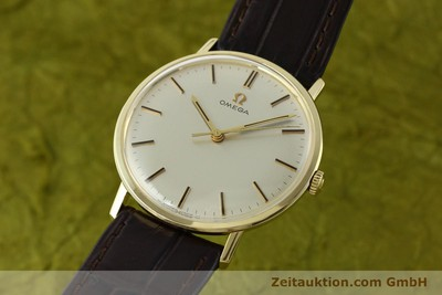 OMEGA 14 CT YELLOW GOLD MANUAL WINDING KAL. 601 [142354]