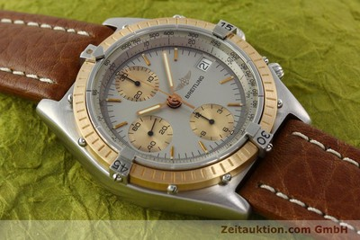 BREITLING CHRONOMAT CHRONOGRAPH STEEL / GOLD AUTOMATIC KAL. VAL 7750 [142361]
