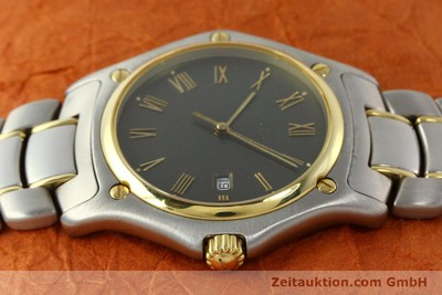 EBEL 1911 STEEL / GOLD QUARTZ KAL. 87 [142362]