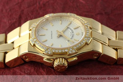 VACHERON & CONSTANTIN OVERSEAS 18 CT GOLD AUTOMATIC KAL. 1056 LP: 40000EUR [142378]