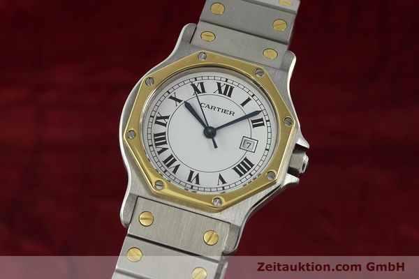 CARTIER SANTOS ACIER / OR AUTOMATIQUE KAL. 2671 [142380]