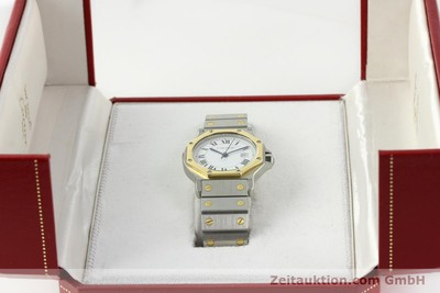 CARTIER SANTOS RONDE GOLD / STAHL MEDIUM AUTOMATIK VP: 7100,- EURO [142380]