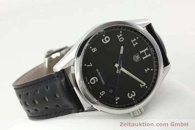 TAG HEUER CARRERA STEEL AUTOMATIC KAL. 5 SELLITA 200-1 LP: 2200EUR [142385]