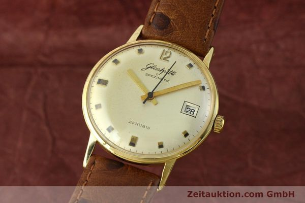 GLASHÜTTE SPEZIMATIC DORÉ AUTOMATIQUE KAL. 75 [142393]
