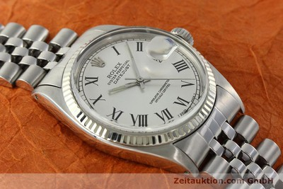 ROLEX DATEJUST STEEL / WHITE GOLD AUTOMATIC KAL. 1570 LP: 6350EUR [142402]