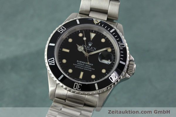 ROLEX SUBMARINER STEEL AUTOMATIC KAL. 3135 LP: 6000EUR [142405]