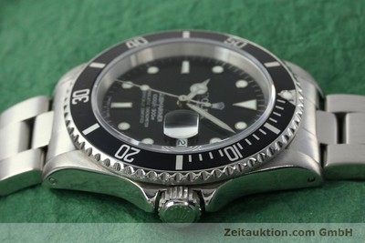 ROLEX SUBMARINER STEEL AUTOMATIC KAL. 3135 [142406]