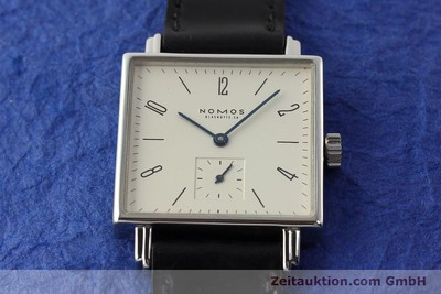 NOMOS TETRA STEEL MANUAL WINDING KAL. ETA 7001 LP: 1440EUR [142408]