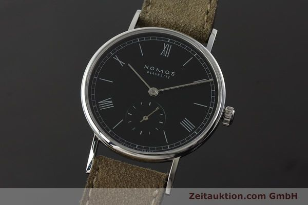 NOMOS LUDWIG STEEL MANUAL WINDING KAL. ALPHA 73916 LP: 1460EUR [142410]