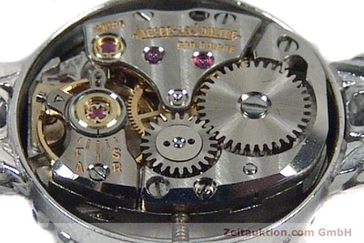 JAEGER LE COULTRE ORO BLANCO DE 18 QUILATES CUERDA MANUAL [142412]