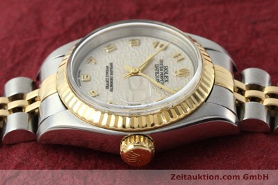 ROLEX LADY OYSTER DATEJUST GOLD /STAHL DAMENUHR AUTOMATIK 79173 VP: 6950,-Euro [142416]