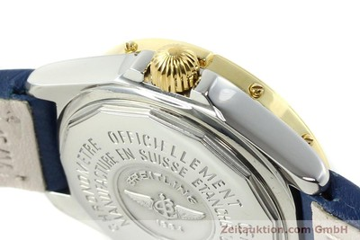 BREITLING LADY B-CLASS CHRONOMETER DAMENUHR STAHL/ GOLD D67365 VP: 3830,- EURO [142417]