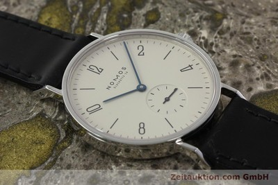 NOMOS TANGENTE STEEL MANUAL WINDING KAL. ETA 7001 [142420]