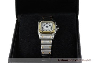 CARTIER SANTOS STEEL / GOLD AUTOMATIC KAL. ETA 2671 [142425]