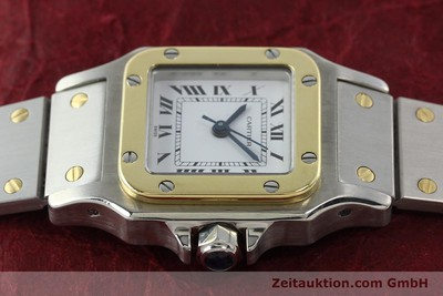 CARTIER SANTOS STEEL / GOLD AUTOMATIC KAL. ETA 2670 [142426]