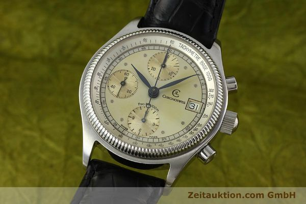 CHRONOSWISS PACIFIC CHRONOGRAPHE ACIER AUTOMATIQUE KAL. VAL 7750  [142427]