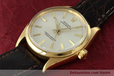 ROLEX OYSTER PERPETUAL ORO 18 CT AUTOMATISMO KAL. 1560 [142429]