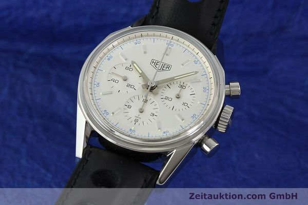 TAG HEUER CARRERA REEDITION CHRONOGRAPH HANDAUFZUG CS3110 VP: 4150,- Euro [142439]
