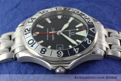 OMEGA SEAMASTER GMT CHRONOMETER AUTOMATIK STAHL 50 YEARS EDITION VP: 3200,- EUR [142441]