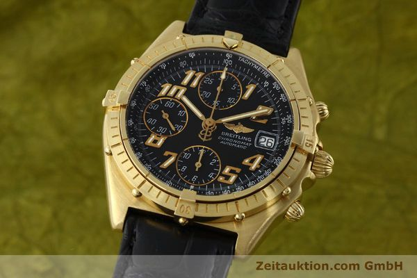 BREITLING CHRONOMAT CHRONOGRAPHE OR 18 CT AUTOMATIQUE KAL. ETA 7750 LP: 23030EUR [142447]