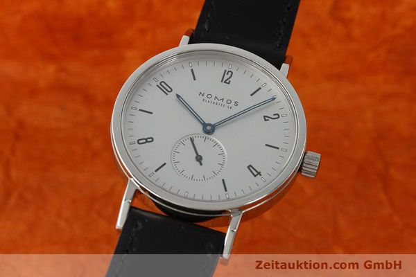 NOMOS TANGENTE SPORT STEEL MANUAL WINDING KAL. ETA 7001 LP: 1420EUR [142452]