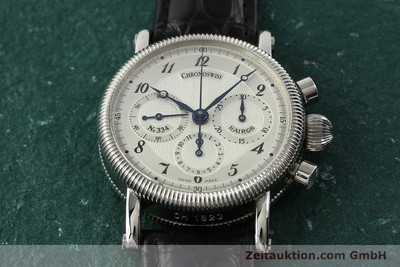 CHRONOSWISS KAIROS CHRONOGRAPH HANDAUFZUG HERRENUHR MEDIUM CH1823 VP: 4700,- EUR [142455]