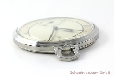 OMEGA TASCHENUHR STEEL MANUAL WINDING KAL. 37,5L-15P [142456]