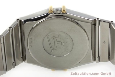 OMEGA CONSTELLATION STAHL / GOLD HERRENUHR DATUM VP: 3220,- EURO [142459]
