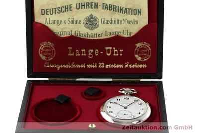 A. LANGE & SÖHNE DUF ARGENTO CARICA MANUALE KAL. 43 [142460]