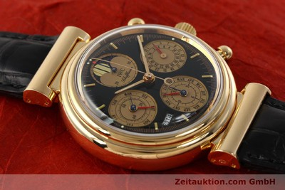 IWC DA VINCI CHRONOGRAPHE OR ROUGE 18 CT AUTOMATIQUE KAL. C.79261 [142463]