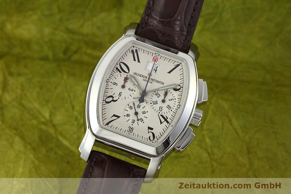 VACHERON & CONSTANTIN ROYAL EAGLE CHRONOGRAPHE ACIER AUTOMATIQUE KAL. 1137  [142465]