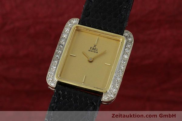 EBEL 18 CT GOLD MANUAL WINDING KAL. 67X ETA 2412 LP: 14700EUR [142485]
