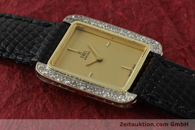 EBEL LADY 18K (0,750) GOLD HANDAUFZUG DIAMANTEN DAMENUHR [142485]