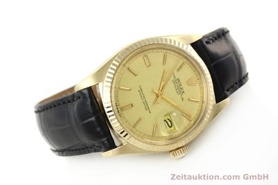 ROLEX DATEJUST OR 18 CT AUTOMATIQUE KAL. 1570 LP: 14640EUR [142486]