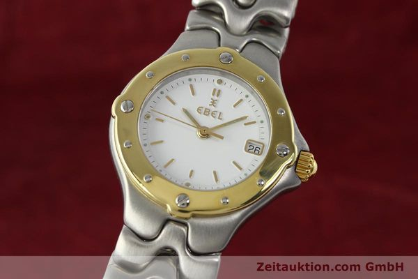 EBEL SPORTWAVE STEEL / GOLD QUARTZ KAL. 87 [142487]