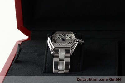 CARTIER ROADSTER STEEL AUTOMATIC KAL. 3110 ETA 2892-2 [142489]