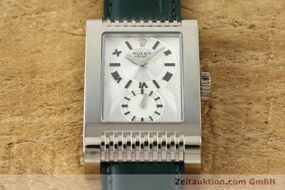 ROLEX CELLINI OR BLANC 18 CT REMONTAGE MANUEL KAL. 7040-3 LP: 14200EUR [142496]