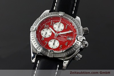 BREITLING EVOLUTION CHRONOGRAPH STEEL AUTOMATIC KAL. B13 ETA 7750 [142510]