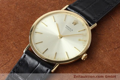 ROLEX CELLINI 18 CT GOLD MANUAL WINDING KAL. 1600 LP: 5000EUR [142519]