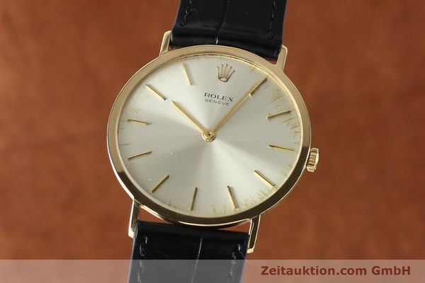 ROLEX CELLINI ORO 18 CT CARICA MANUALE KAL. 1600 LP: 5000EUR [142519]