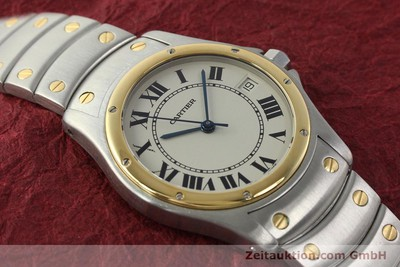 CARTIER COUGAR STEEL / GOLD AUTOMATIC KAL. 49 ETA 2892 LP: 7100EUR [142521]