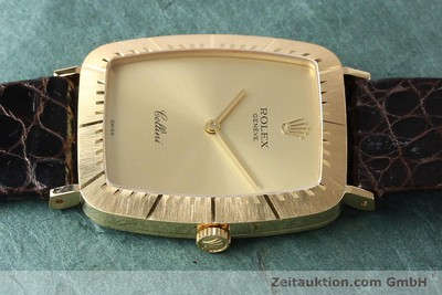 ROLEX CELLINI 18 CT GOLD MANUAL WINDING KAL. 1601 [142522]