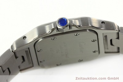 CARTIER SANTOS STEEL QUARTZ KAL. 157 LP: 3850EUR [142526]