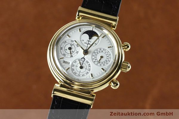 IWC DA VINCI CHRONOGRAPH 18 CT GOLD AUTOMATIC KAL. 790 [142531]