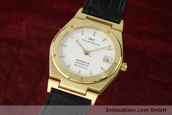 IWC INGENIEUR 18 CT GOLD AUTOMATIC KAL. C37590 LP: 10700EUR [142532]