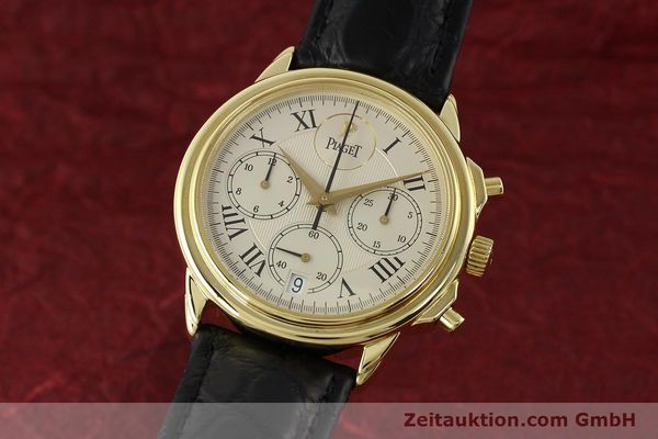 PIAGET GOUVERNEUR CHRONOGRAPHE OR 18 CT AUTOMATIQUE KAL. 1185 P LP: 30300EUR  [142535]