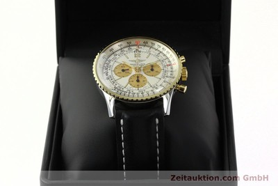 BREITLING NAVITIMER CHRONOGRAPH STEEL / GOLD MANUAL WINDING KAL. LWO 1873 [142540]